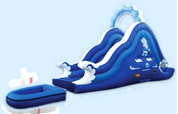Ocean Wave Water Slide