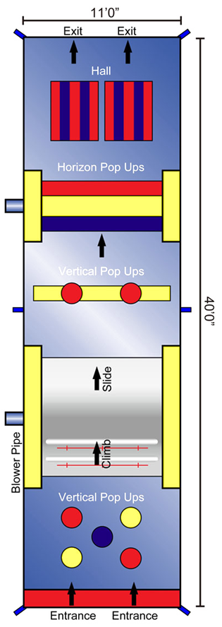 Obstacle Course Schematic